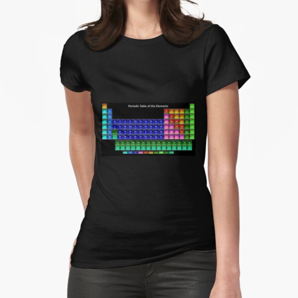 #Mendeleev's #Periodic #Table of the #Elements Fitted T-Shirt