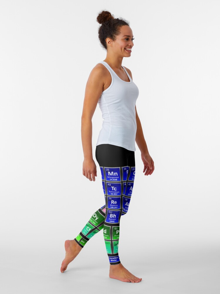 Alternate view of #Mendeleev's #Periodic #Table of the #Elements Leggings
