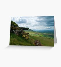 Hay Bluff Greeting Card