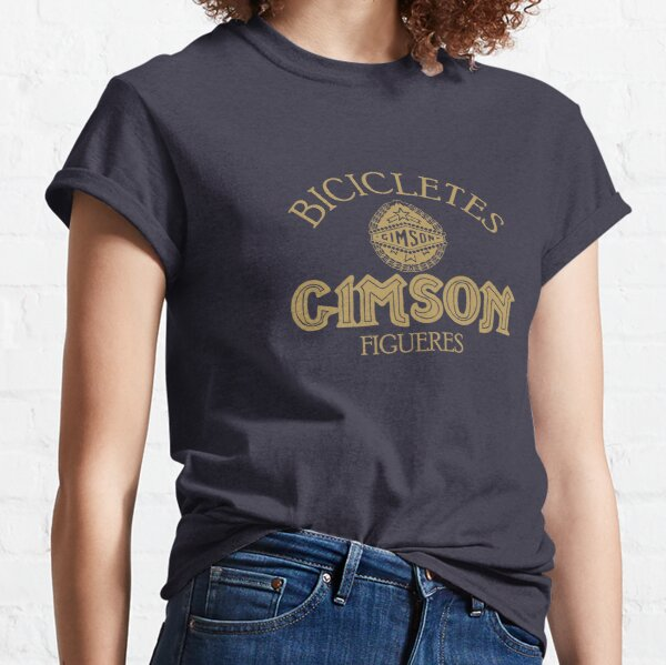 Copy of Gimson Bicycle headbage gold Classic T-Shirt