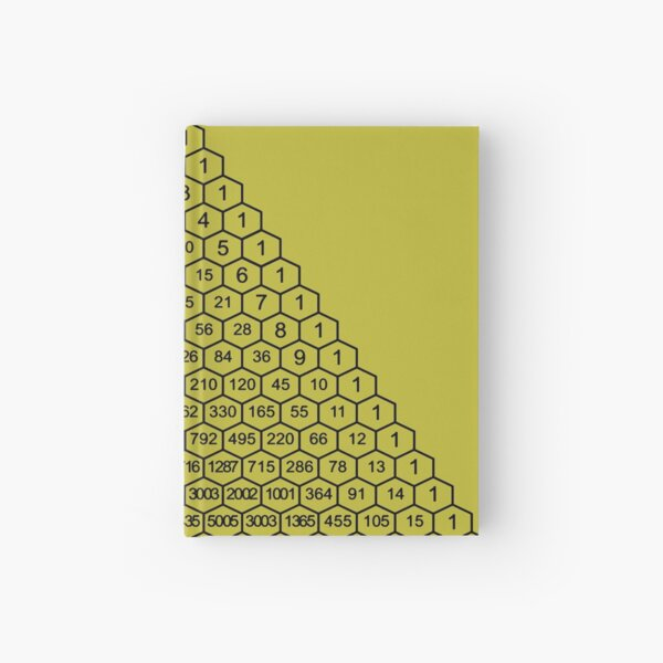 In mathematics, Pascal's triangle is a triangular array of the binomial coefficients Hardcover Journal