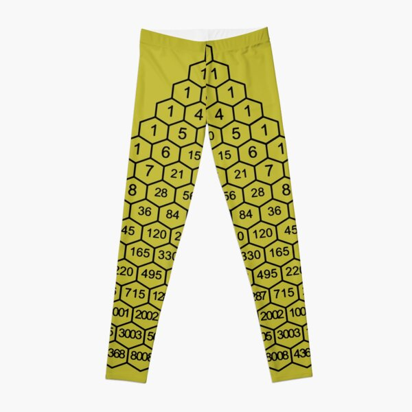 In mathematics, Pascal's triangle is a triangular array of the binomial coefficients Leggings