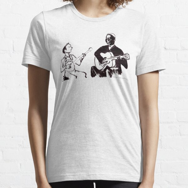 Young Pete Seeger and old Huddie Lead Belly Essential T-Shirt