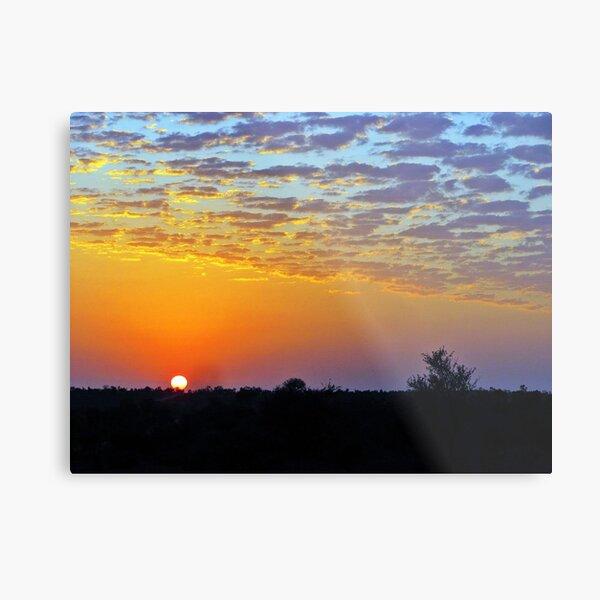 African Sunrise Metal Print