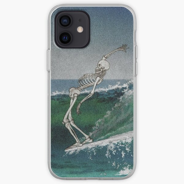 Ride the wave iPhone Soft Case