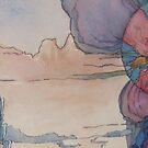 lands thru my mind 8 by Ellen Keagy