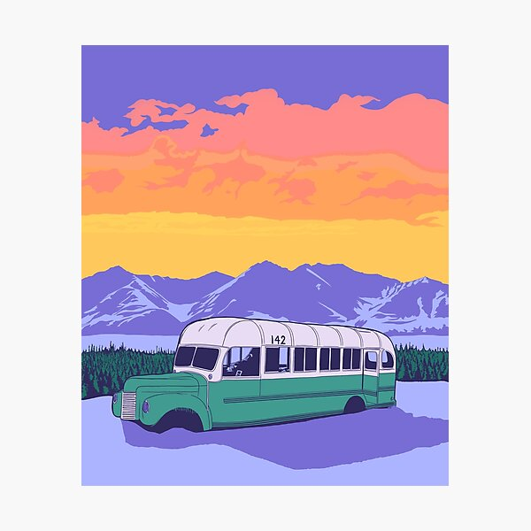 Bus 142 Poster Photographic Print