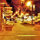Mid Night on Main Street by Thomas Eggert