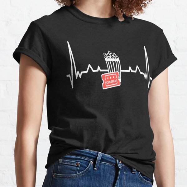 Cinema Movie Heartbeat Classic T-Shirt