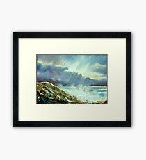 Storm Over The Atlantic Framed Print