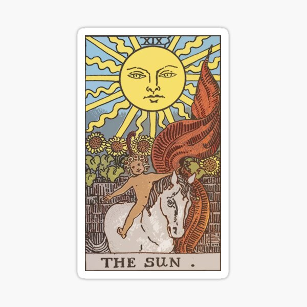Tarot - The Sun Sticker
