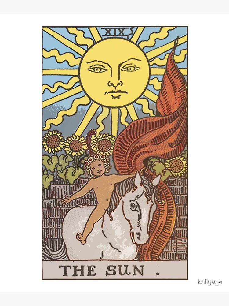 Tarot - The Sun by kaliyuga