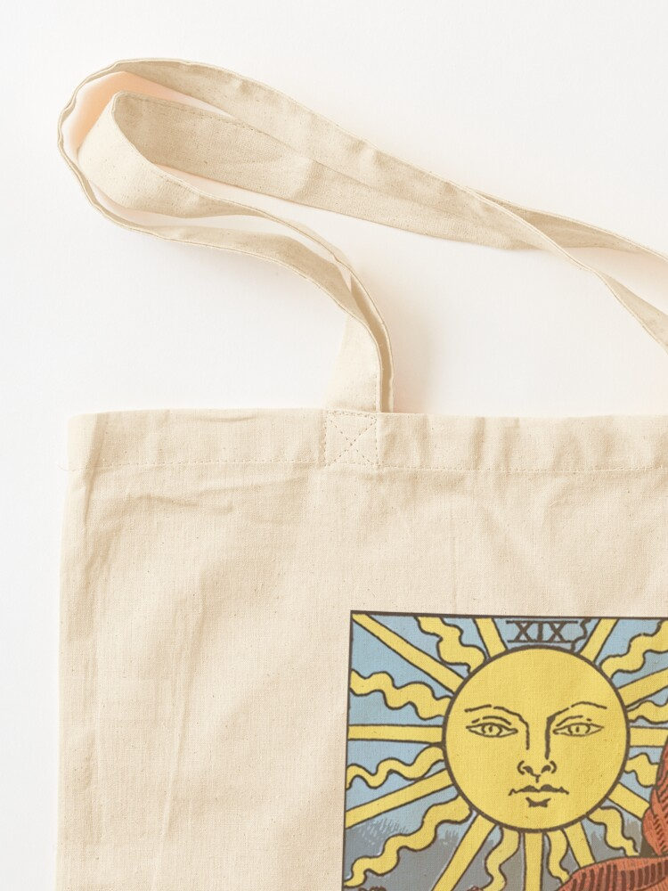 Alternate view of Tarot - The Sun Tote Bag