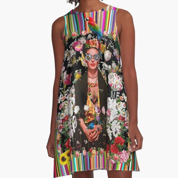 Frida Incognito Robe trapèze