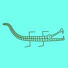 Alligator line by a-roderick