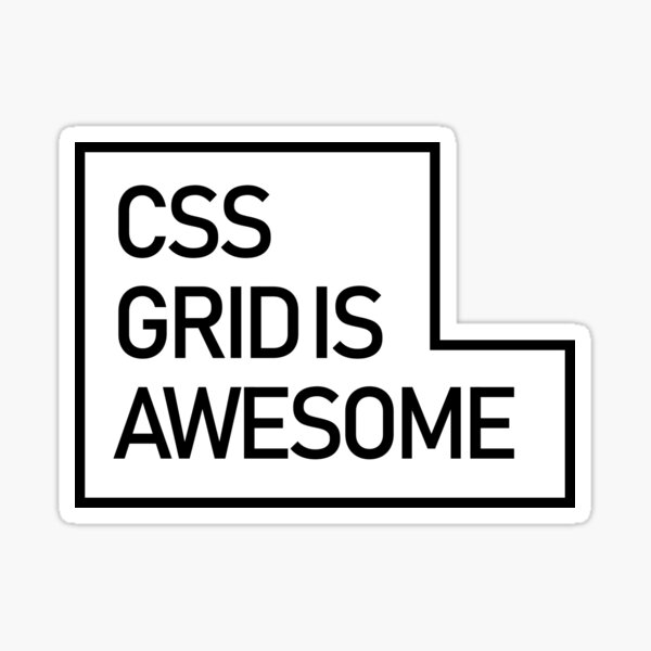 Css is Awesome Sticker