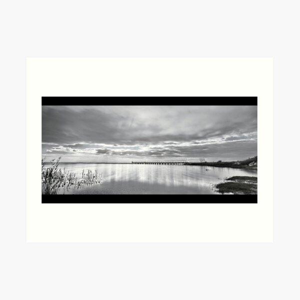 Lake Alexandrina. Art Print