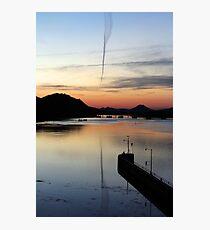 Sunset at the Bridge, 8 Photographic Print