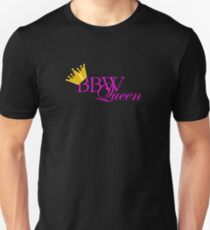 BBW-Queen -Gold Unisex T-Shirt