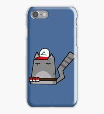 Ash (pokemon) Cat iPhone Case/Skin