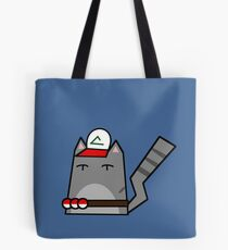 Ash (pokemon) Cat Tote Bag