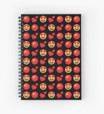 Love Chinese Emoji JoyPixels Travel to China Spiral Notebook