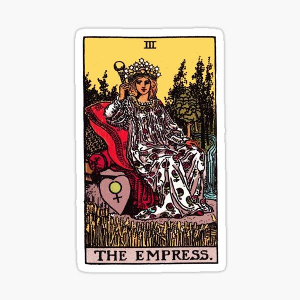 Tarot - The Empress Sticker