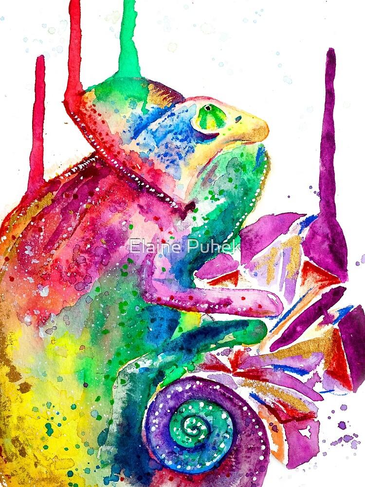 Steve the Chameleon by Chili-Ice
