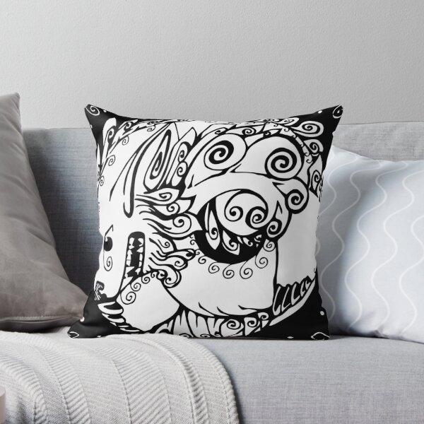 Fu Dog Throw Pillow