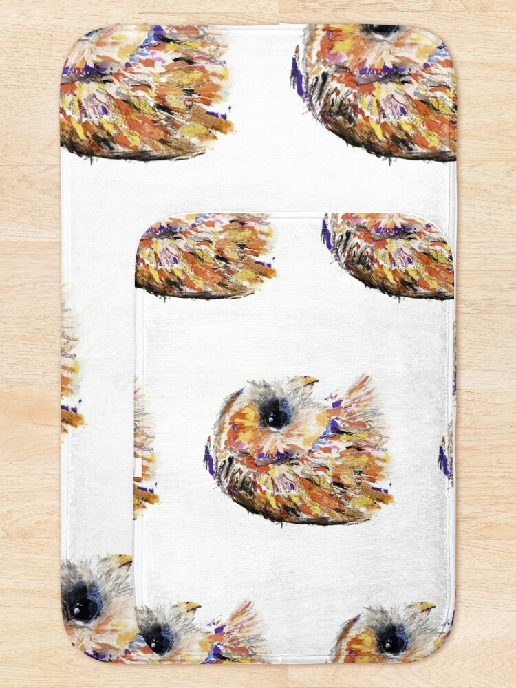Alternate view of Owl you need is love Bath Mat
