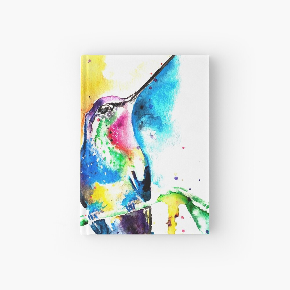 Humming Bird Hardcover Journal