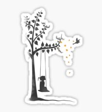 breathe life Sticker