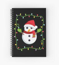 OMG Santa Coming Spiral Notebook