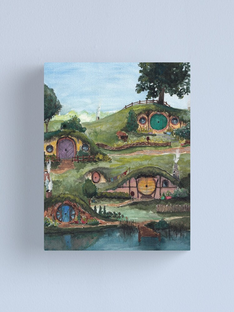 Alternate view of The Shire Canvas Print
