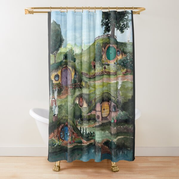 The Shire Shower Curtain