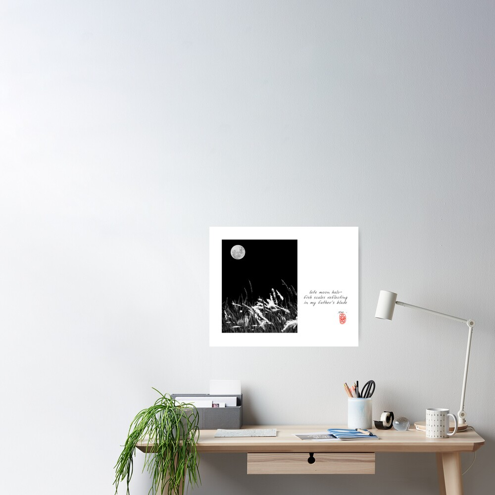 Late Moon Poster