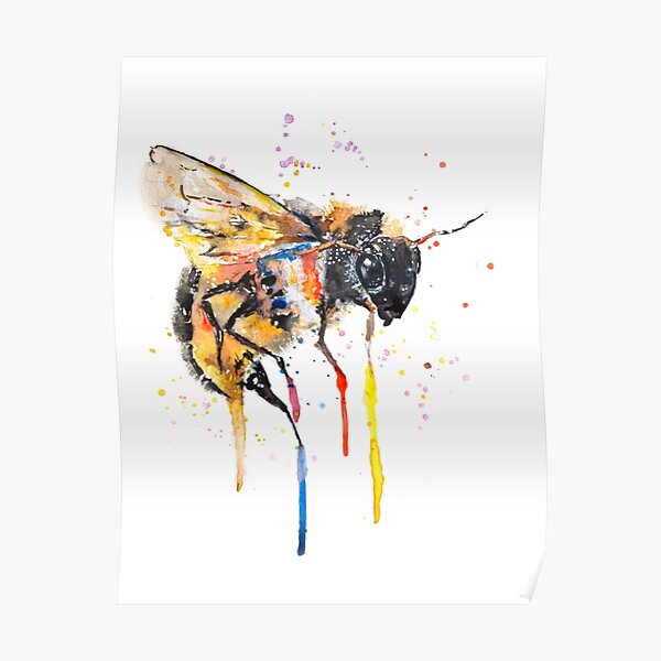Don`t Worry BEE happy Poster