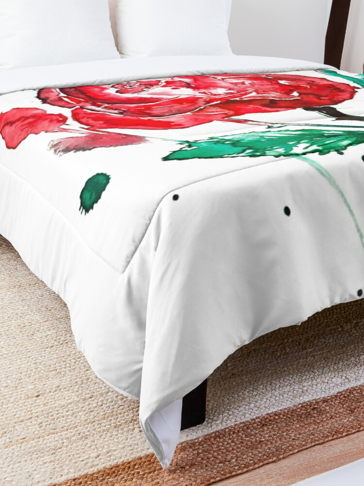 Alternate view of Rose Comforter