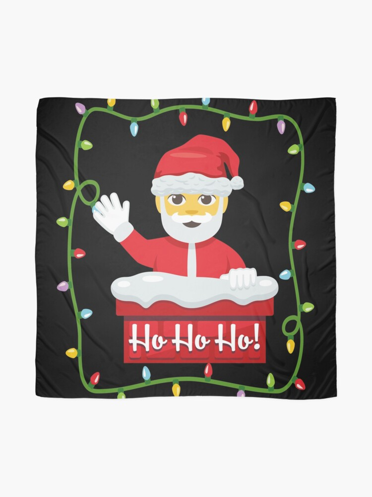 Alternate view of OMG Santa Coming Scarf