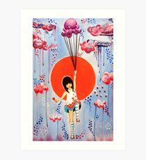 afloat nippon Art Print