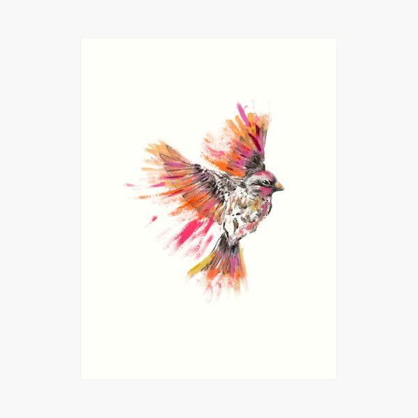 Flying Bird Art Print