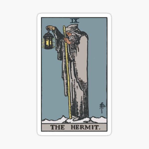 Tarot - The Hermit Sticker