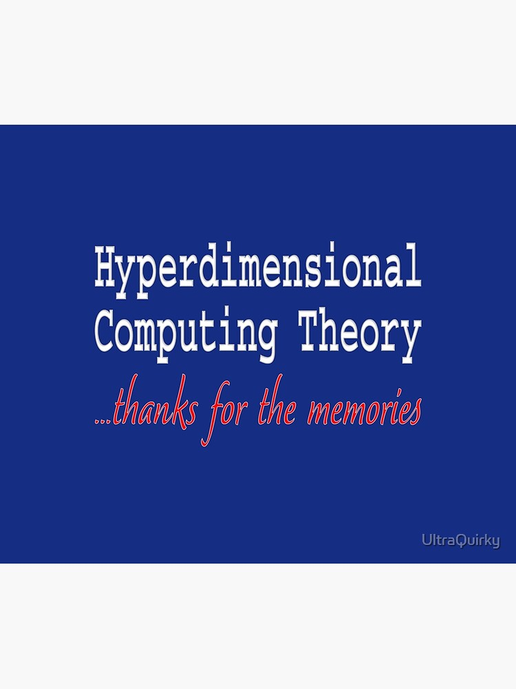 Hyperdimensional Computing Theory. by UltraQuirky
