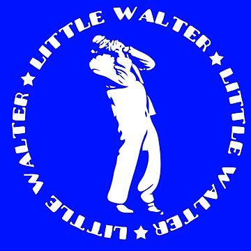 Little Walter Silhouette by brandonrankin