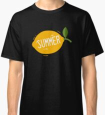 Sommer Lemon Fruit Classic T-Shirt
