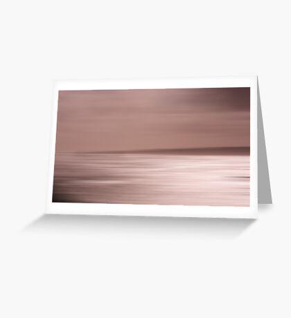 Sepia Shades at Sunset Greeting Card