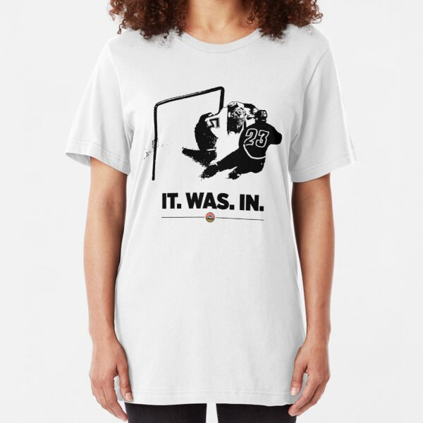 It. Was. In.  Slim Fit T-Shirt