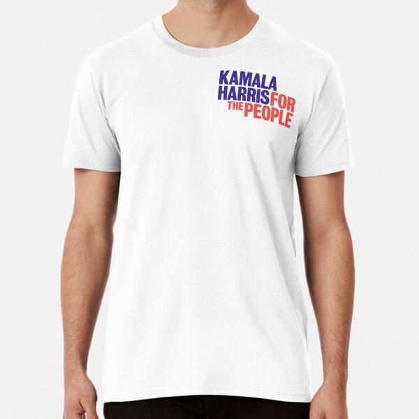 Kamala Harris For the People Sticker Premium T-Shirt