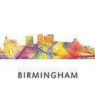 Birmingham Alabama Skyline WB1 von Marlene Watson