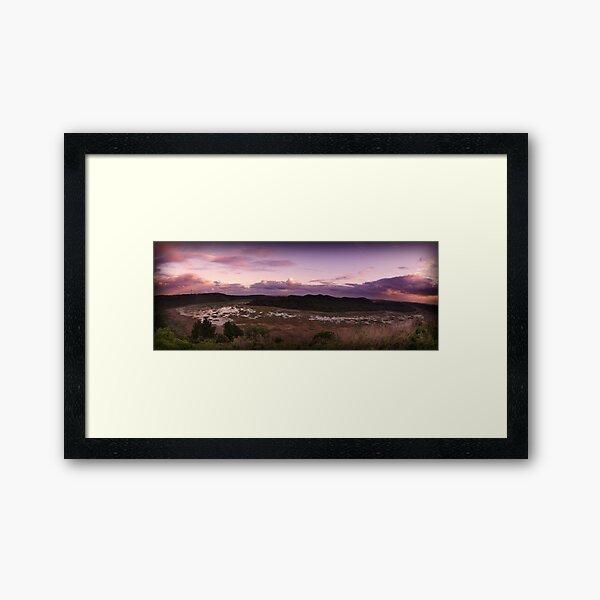Autumnal Tower Hill Framed Art Print